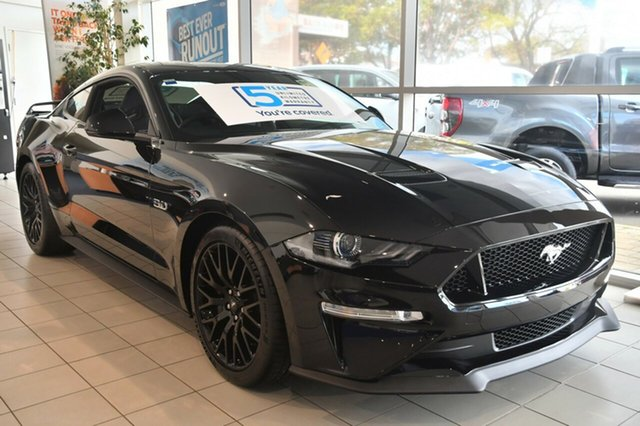 New Ford Mustang FN MY18 GT Fastback SelectShift, 2018 Ford Mustang FN MY18 GT Fastback SelectShift Shadow Black 10 Speed Sports Automatic Fastback