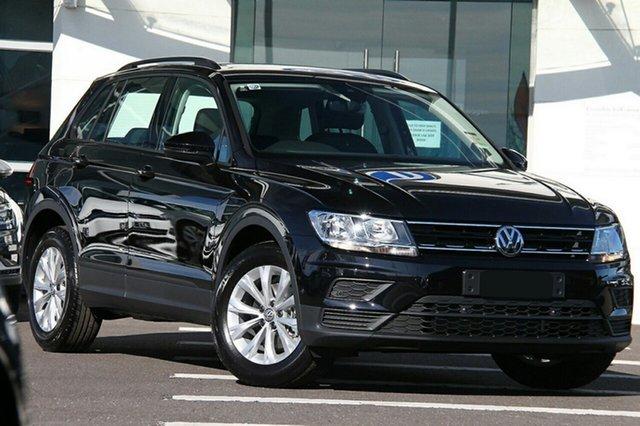 New Volkswagen Tiguan 5N MY20 110TSI DSG 2WD Trendline, 2020 Volkswagen Tiguan 5N MY20 110TSI DSG 2WD Trendline Black 6 Speed Sports Automatic Dual Clutch