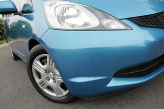 2010 Honda Jazz GE MY10 VTi Cerulean Blue 5 Speed Automatic Hatchback.