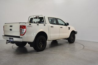 2015 Ford Ranger PX XL Double Cab Cool White 6 Speed Manual Utility.