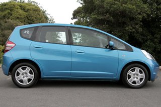 2010 Honda Jazz GE MY10 VTi Cerulean Blue 5 Speed Automatic Hatchback