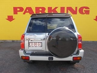 2012 Nissan Patrol Y61 GU 8 ST Silver 4 Speed Automatic Wagon