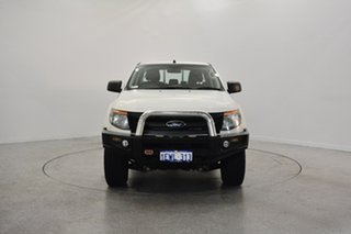 2015 Ford Ranger PX XL Double Cab Cool White 6 Speed Manual Utility