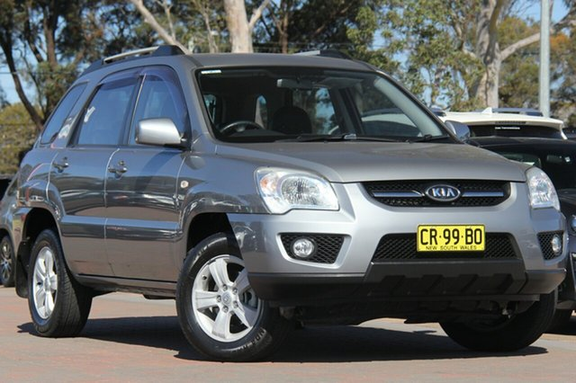 Used Kia Sportage KM2 MY09 LX, 2009 Kia Sportage KM2 MY09 LX Grey 4 Speed Automatic SUV