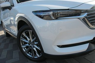 2020 Mazda CX-8 KG4W2A Asaki SKYACTIV-Drive i-ACTIV AWD White 6 Speed Sports Automatic Wagon.