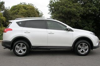 2015 Toyota RAV4 ZSA42R MY14 GXL 2WD Pearl White 7 Speed Constant Variable Wagon