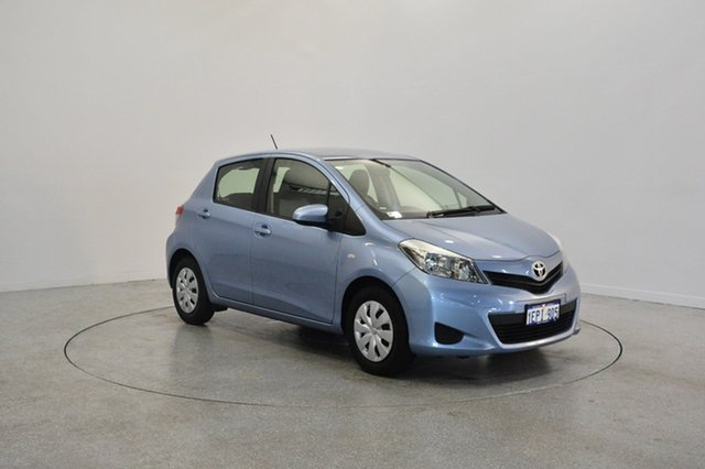 Used Toyota Yaris NCP130R YR, 2013 Toyota Yaris NCP130R YR Blue 5 Speed Manual Hatchback