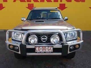 2012 Nissan Patrol Y61 GU 8 ST Silver 4 Speed Automatic Wagon.