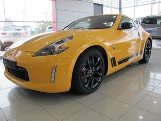 2018 Nissan 370Z Z34 MY18 N-Sport Yellow 7 Speed Automatic Coupe.