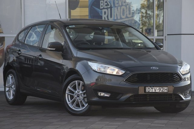 Used Ford Focus LZ Trend, 2017 Ford Focus LZ Trend Magnetic 6 Speed Automatic Hatchback
