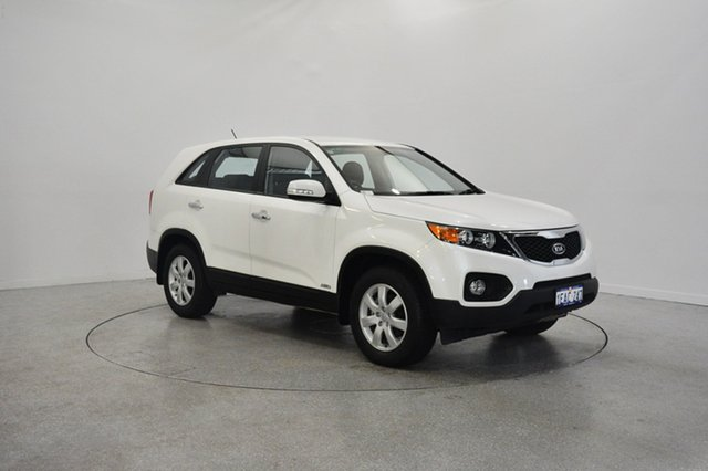 Used Kia Sorento XM MY12 SI, 2012 Kia Sorento XM MY12 SI Snow White Pearl 6 Speed Sports Automatic Wagon