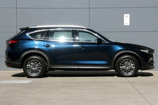 2020 Mazda CX-8 KG2WLA Sport SKYACTIV-Drive FWD Deep Crystal Blue 6 Speed Sports Automatic Wagon