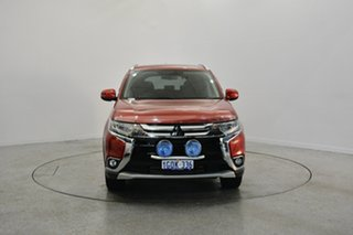 2015 Mitsubishi Outlander ZK MY16 Exceed 4WD Red 6 Speed Sports Automatic Wagon