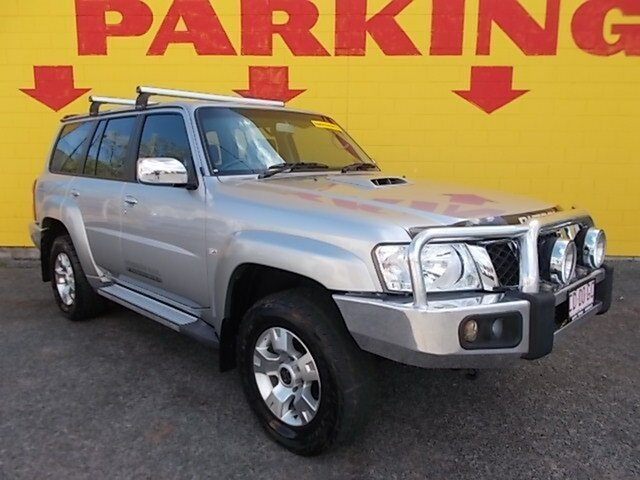 Used Nissan Patrol Y61 GU 8 ST, 2012 Nissan Patrol Y61 GU 8 ST Silver 4 Speed Automatic Wagon