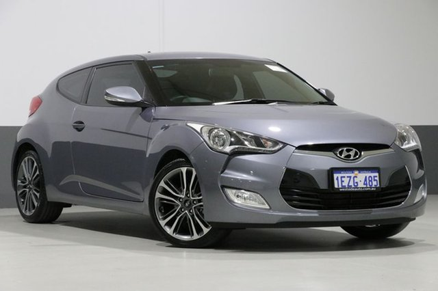 Used Hyundai Veloster FS5 Series 2 MY16 , 2016 Hyundai Veloster FS5 Series 2 MY16 Grey 6 Speed Auto Dual Clutch Coupe
