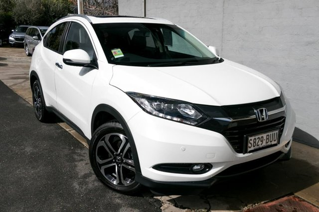 Demo Honda HR-V MY17 VTi-L, 2018 Honda HR-V MY17 VTi-L White Orchid 1 Speed Constant Variable Hatchback