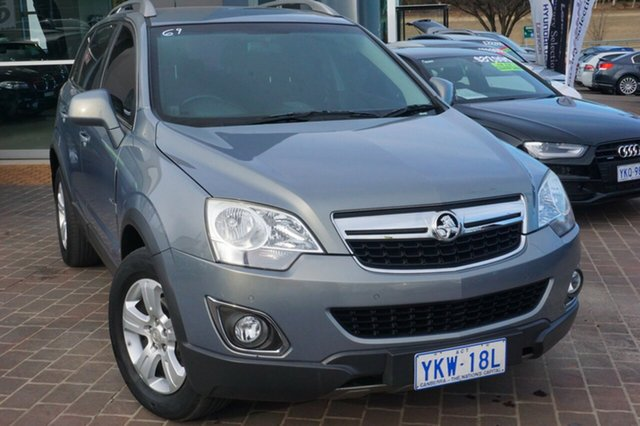 Used Holden Captiva CG Series II 5, 2011 Holden Captiva CG Series II 5 Grey 6 Speed Sports Automatic Wagon