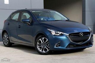2018 Mazda 2 DJ2HAA GT SKYACTIV-Drive Eternal Blue 6 Speed Sports Automatic Hatchback
