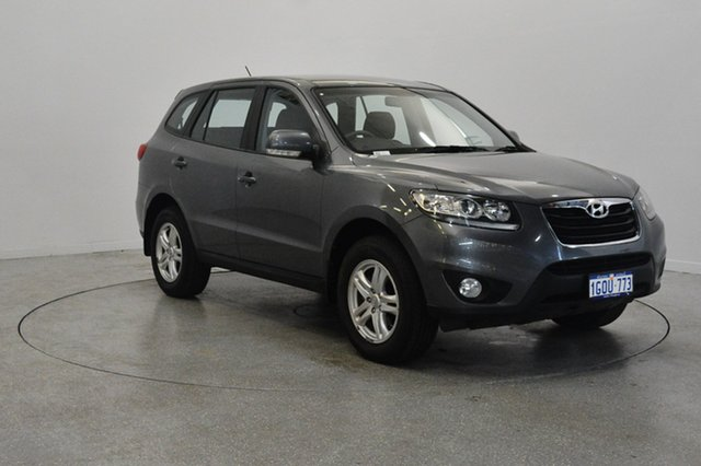 Used Hyundai Santa Fe CM MY11 SLX, 2011 Hyundai Santa Fe CM MY11 SLX Grey 6 Speed Sports Automatic Wagon