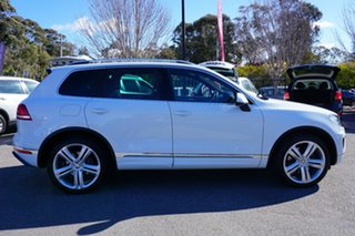 2015 Volkswagen Touareg 7P MY15 V8 TDI Tiptronic 4MOTION R-Line White 8 Speed Sports Automatic Wagon