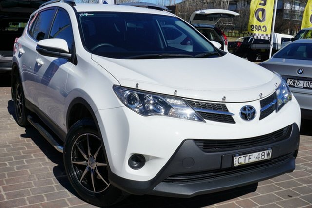 Used Toyota RAV4 ZSA42R MY14 GX 2WD, 2014 Toyota RAV4 ZSA42R MY14 GX 2WD White 6 Speed Manual Wagon