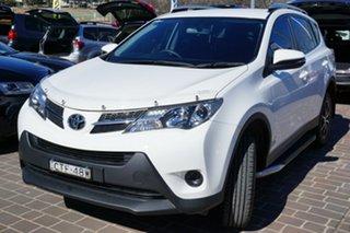 2014 Toyota RAV4 ZSA42R MY14 GX 2WD White 6 Speed Manual Wagon.