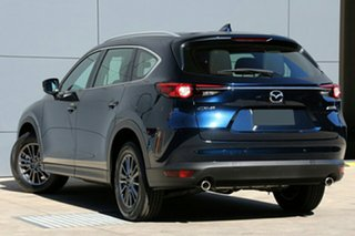 2020 Mazda CX-8 KG2WLA Sport SKYACTIV-Drive FWD Deep Crystal Blue 6 Speed Sports Automatic Wagon.