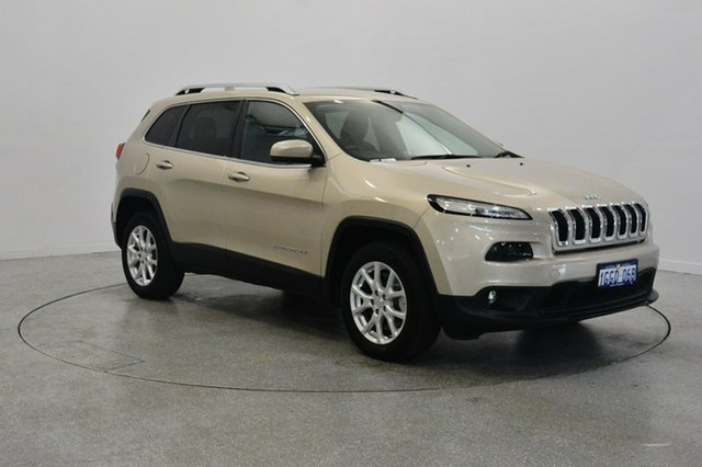 Used Jeep Cherokee KL MY16 Longitude, 2016 Jeep Cherokee KL MY16 Longitude Cashmere Pearl 9 Speed Sports Automatic Wagon