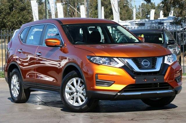 New Nissan X-Trail T32 Series II ST X-tronic 4WD, 2019 Nissan X-Trail T32 Series II ST X-tronic 4WD Copper Blaze 7 Speed Constant Variable Wagon