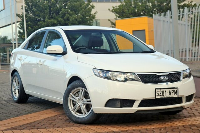 Used Kia Cerato TD MY11 S, 2011 Kia Cerato TD MY11 S White 6 Speed Manual Sedan