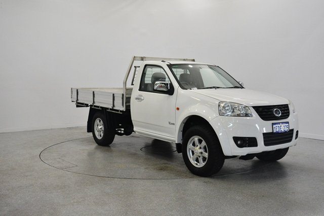 Used Great Wall V240 K2 MY13 4x2, 2013 Great Wall V240 K2 MY13 4x2 White 5 Speed Manual Cab Chassis