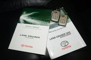 2012 Toyota Landcruiser VDJ200R MY12 VX White 6 Speed Sports Automatic Wagon