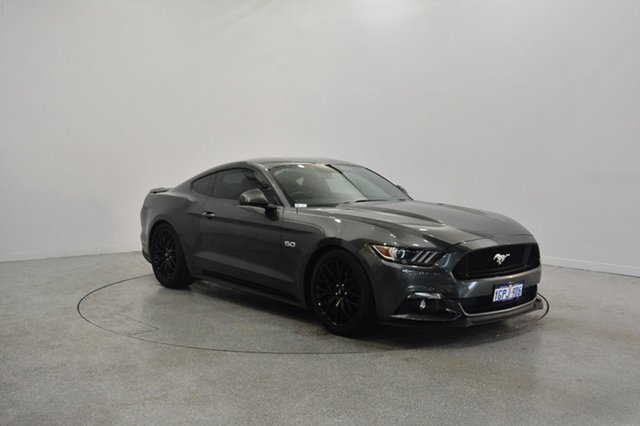 Used Ford Mustang FM MY17 GT Fastback, 2016 Ford Mustang FM MY17 GT Fastback Grey 6 Speed Manual Fastback