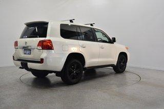 2012 Toyota Landcruiser VDJ200R MY12 VX White 6 Speed Sports Automatic Wagon.