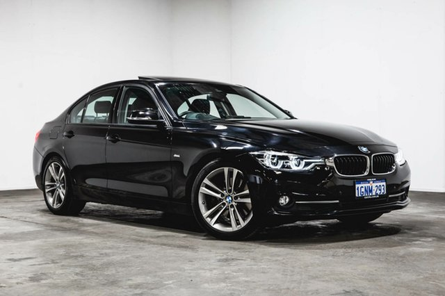 Used BMW 330i F30 LCI Sport Line, 2016 BMW 330i F30 LCI Sport Line Black 8 Speed Sports Automatic Sedan