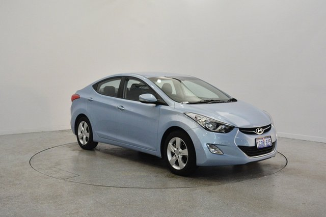 Used Hyundai Elantra MD2 Elite, 2012 Hyundai Elantra MD2 Elite Clean Blue 6 Speed Sports Automatic Sedan