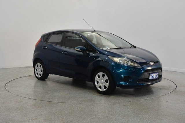 Used Ford Fiesta WT CL, 2012 Ford Fiesta WT CL Blue 5 Speed Manual Hatchback