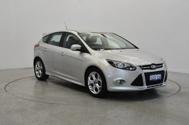 Used Ford Focus LW MKII Sport, 2013 Ford Focus LW MKII Sport Ingot Silver 5 Speed Manual Hatchback