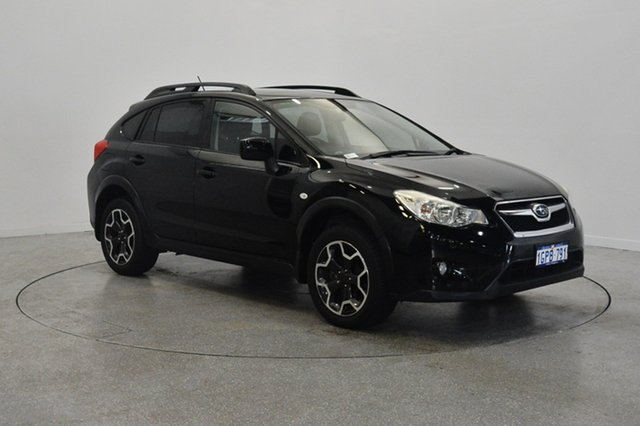 Used Subaru XV G4X MY14 2.0i-L Lineartronic AWD, 2014 Subaru XV G4X MY14 2.0i-L Lineartronic AWD Black 6 Speed Constant Variable Wagon