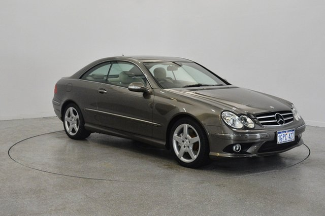 Used Mercedes-Benz CLK280 C209 MY08 Avantgarde, 2009 Mercedes-Benz CLK280 C209 MY08 Avantgarde Bronze 7 Speed Automatic Coupe