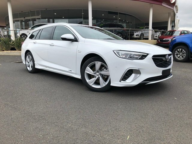 Demo Holden Commodore ZB MY18 RS-V Sportwagon AWD, 2018 Holden Commodore ZB MY18 RS-V Sportwagon AWD Summit White 9 Speed Sports Automatic Wagon