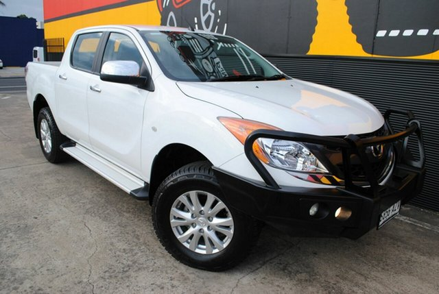 Used Mazda BT-50 UP0YF1 GT, 2013 Mazda BT-50 UP0YF1 GT Cool White 6 Speed Sports Automatic Utility