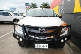 2013 Mazda BT-50 UP0YF1 GT Cool White 6 Speed Sports Automatic Utility