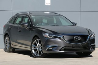 2018 Mazda 6 GL1021 Atenza SKYACTIV-Drive Machine Grey 6 Speed Sports Automatic Wagon.