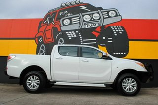 2013 Mazda BT-50 UP0YF1 GT Cool White 6 Speed Sports Automatic Utility.
