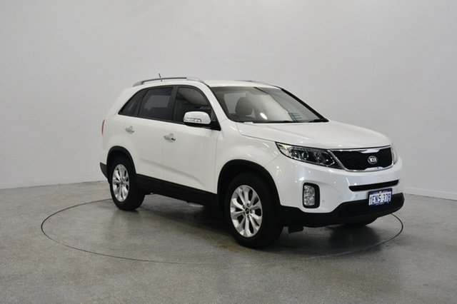 Used Kia Sorento XM MY14 SLi, 2014 Kia Sorento XM MY14 SLi White 6 Speed Sports Automatic Wagon