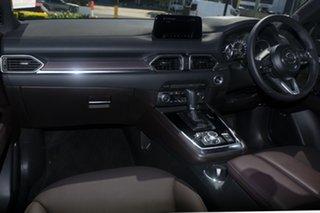 2018 Mazda CX-8 KG4W2A Asaki SKYACTIV-Drive i-ACTIV AWD Jet Black 6 Speed Sports Automatic Wagon