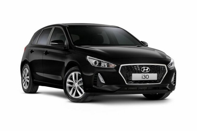 Demo Hyundai i30 PD MY18 Active, 2018 Hyundai i30 PD MY18 Active Phantom Black Pearl 6 Speed Sports Automatic Hatchback