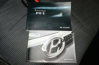 2011 Hyundai iLOAD TQ-V MY11 Ceramic White 5 Speed Manual Van