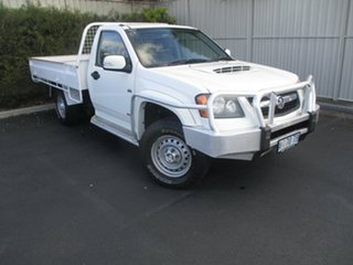 2008 Holden Colorado RC LX White 5 Speed Manual Cab Chassis.